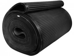 Rubber filter belt